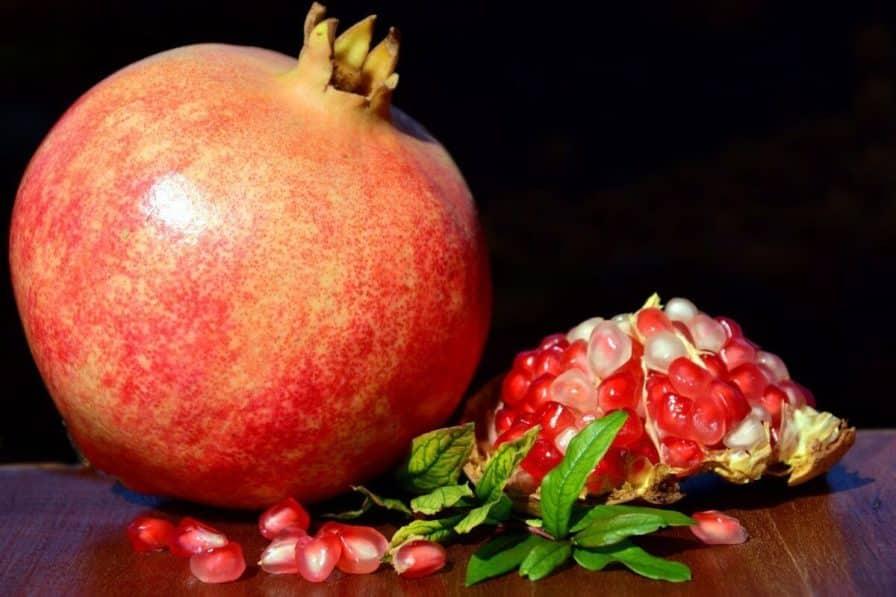 Granatapfel fördert die Fruchtbarkeit